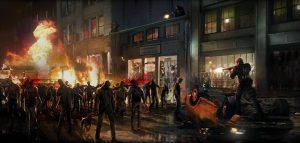 Resident Evil Streetscene